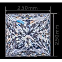2.50mm - 2.50mm